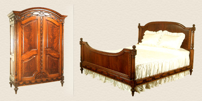 The finest custom made luxury italian and european style furniture for Custom made bedroom furniture
