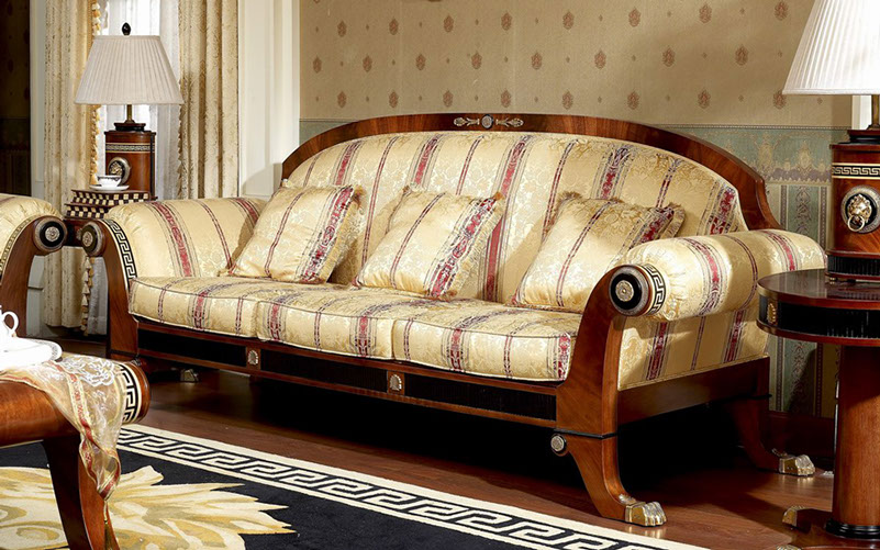 Italian Furniture Living Room. Classic Italian  European Furniture Elegant House and French Luxury