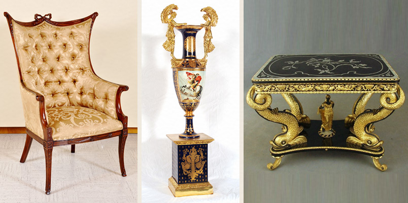 Elegant Home Decor Accessories: Italian And French Fine Glass Sculptures, Vases And