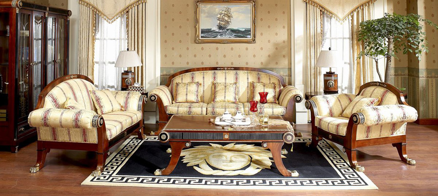 Elegant House Luxury European Italian Style Furniture